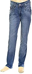 HAVOC Boys' 35069 Slim Fit Jeans (Blue, Size 34 - 9 to 10 Years)