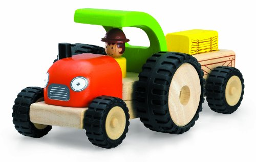 Wonderworld Mini Toy Tractor