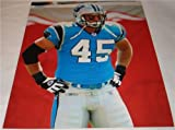 Brad Hoover Carolina Panthers Blue Jersey 8 x 10 Photo at Amazon.com