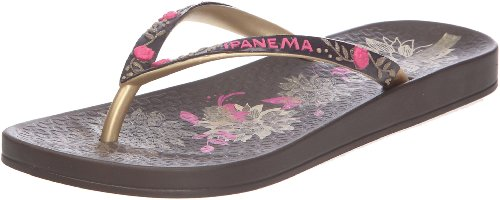 84cb50cb2e1cb0 iPANEMA India Ladies Flip Flop Brown-4 Reviews