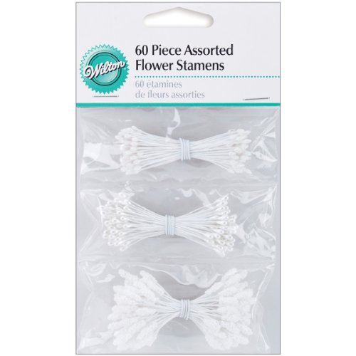 Wilton Flower Stamens 180/pkg assorted