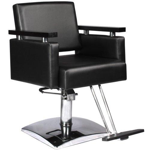 Modern black hydraulic styling chair salon equipment for A m salon equipment