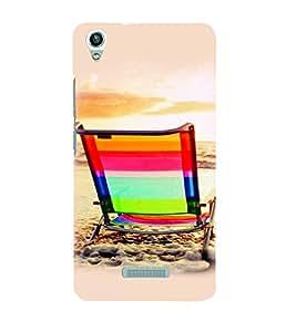 PrintVisa Travel Beach 3D Hard Polycarbonate Designer Back Case Cover for LAVA PIXEL V1