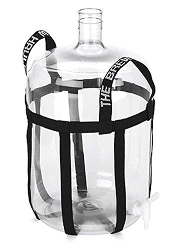 BREW HAULER CARBOY STRAP - A NYLON SLING CARRIER FOR WINE BEER HOME BREWING KIT (Carboy Mixer compare prices)