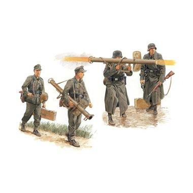 Buy Low Price Dragon Models 6374 1/35 Panzerschreck Teams Figure Set '44-'45 (B0019DDXME)