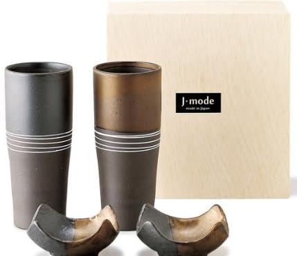 J-mode 焼〆 ペアビアタンブラー 02587