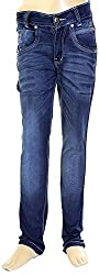 HAVOC Boys' 45080 Slim Fit Jeans (Blue, Size 40 - 15 to 16 Years.)