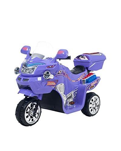 Lil' Rider Kid's 3 Wheel Battery Powered FX Sport Bike - Purple