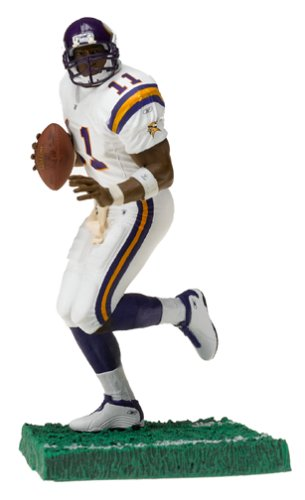 "Daunte Culpepper 2 Rare Minnesota Vikings ""White Jersey"" Variant McFarlane NFL Series 9 Action Figure"