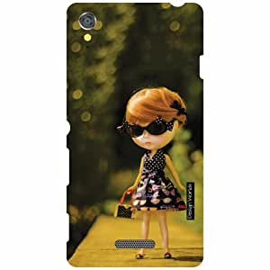 Design Worlds Sony Xperia T3 D5102 Back Cover - Doll Designer Case and Covers