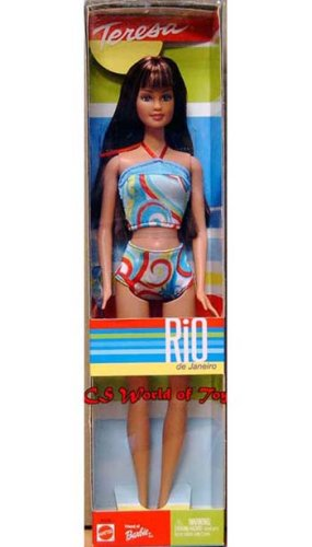 Teresa Rio de Janeiro Barbie Doll - 1