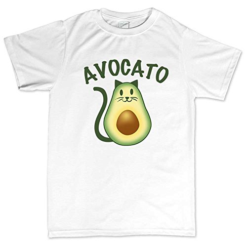 avocado-avocato-cat-kitten-kitty-pet-t-shirt-xl-white