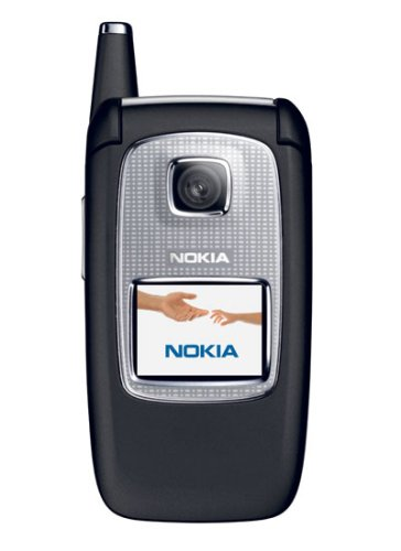 Nokia 6103 Unlocked Cell Phone--U.S. Version with Warranty (Black)
