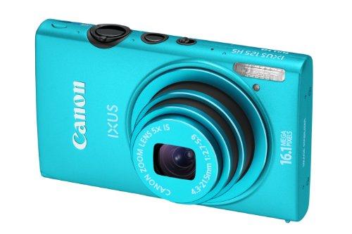 Canon IXUS 125 HS Digital Camera - Blue (16.1MP, 5x Optical Zoom) 3.0 inch LCD