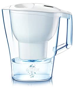 Brita Pacifica Water Filter Pitcher, Blue, 10 Cup