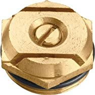 Orbit 53054 Brass Sprinkler Head Insert-STRP PATTERN BRASS INS
