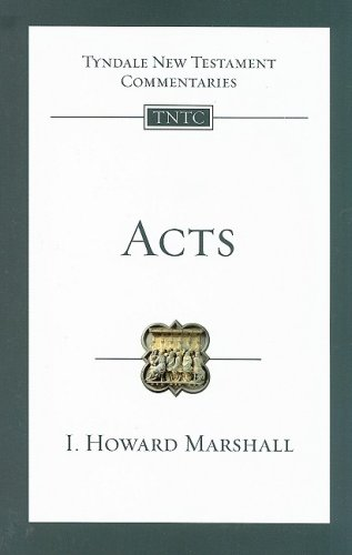 Acts (Tyndale New Testament Commentaries)