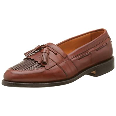 Allen Edmonds Men's Cody Tassel Loafer,Chili/Weave,7 D