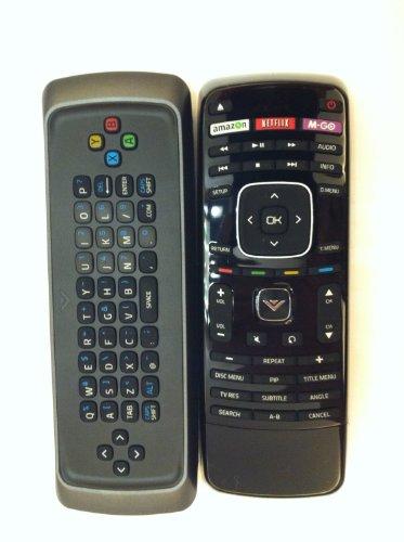 Brand New Vizio Blu Ray Dvd Blue Ray Dvd Remote Xrd2Br Blu-Ray Dvd Bd Qwerty Dual Side Keyboard Remote Xbr102 For Vizio Blu-Ray Dvd Vbr122 Vbr135 Vbr337 Vbr338 Vbr370 With Netflix, Amazon. Vudo, M-Go Key---New Original Vizio Blu Ray / Blue Ray Dvd Bd Blu-