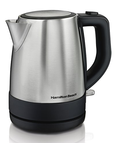 Hamilton Beach 40998 1 L Stainless Steel Electric Kettle, Silver