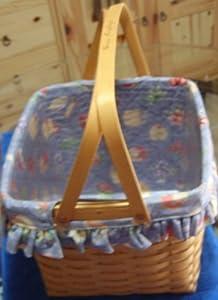 Longaberger Grandma Bonnie's 2 Pie Basket Set