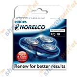 Norelco Philips RQ10 Arcitec Replacement Heads