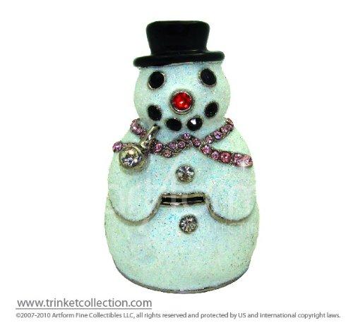 Objet D'Art Release #398 Christmas Trinket Box
