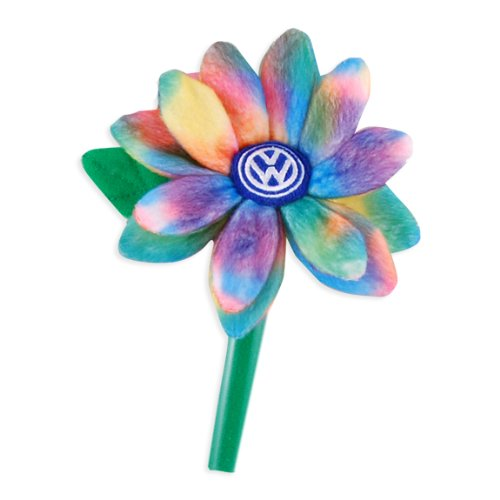 vw tie dye plush daisy interior accessories apparel. Black Bedroom Furniture Sets. Home Design Ideas
