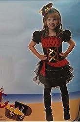 Dainty Pirate Child Costume - Medium