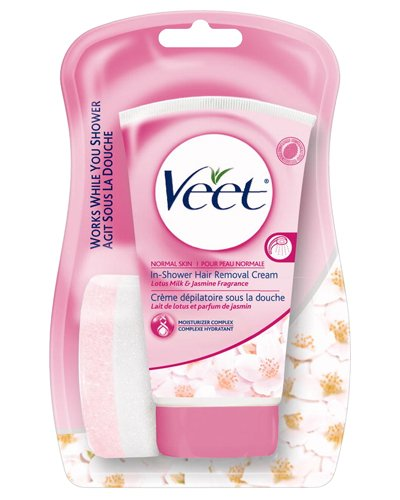 Price Comparisons Veet In Shower Hair Removal Cream For Normal