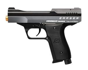 Buy Kingman Spyder Training Eraser Metal Paintball Pistol ONLY .43 caliber 11mm Titanium Gray Black police trainer by Kingman Training