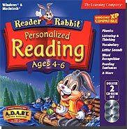 Learning Company Reader Rabbit Personalized Reading 4-6 Deluxe A Great Program