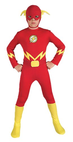 Child's The Flash Halloween Costume (Size:Small 4-6)