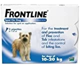 Frontline Spot On Dog 6 Pipettes 10 - 20 Kg.