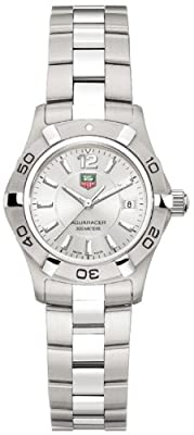 "TAG Heuer Women's WAF1412.BA0823 ""Aquaracer"" Stainless Steel Dive Watch"