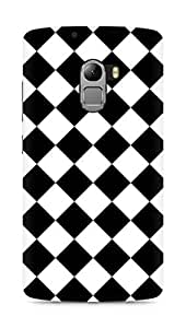 Amez designer printed 3d premium high quality back case cover for Lenovo K4 Note (Chess Simple Pattern)