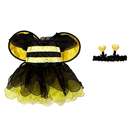 Koala Kids Infant Girls Yellow Bumble Bee Costume with Wings & Headband (Infant Bumble Bee Costume)