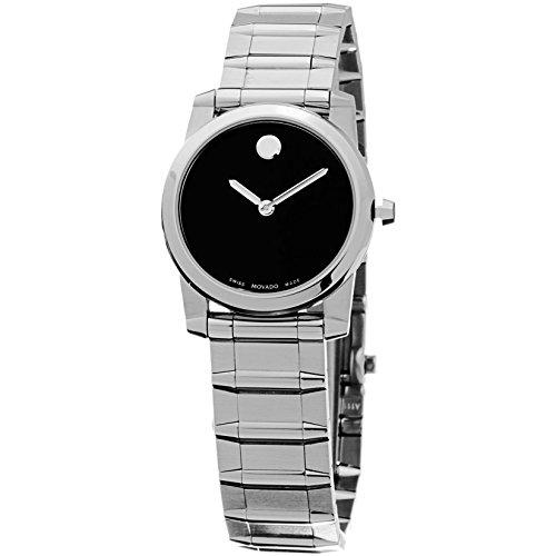 movado-vizio-damen-255mm-silber-edelstahl-armband-gehause-uhr-0606681