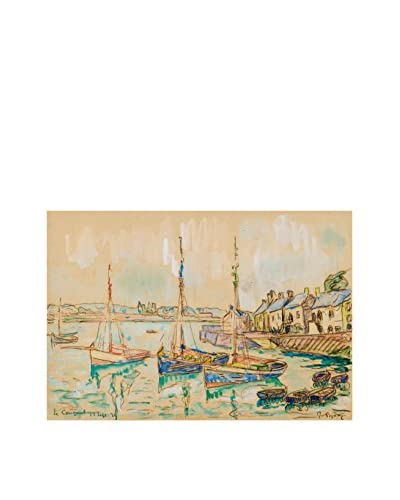 Legendarte Pannello Decorativo su Tela Paul Signac – Le Conquet