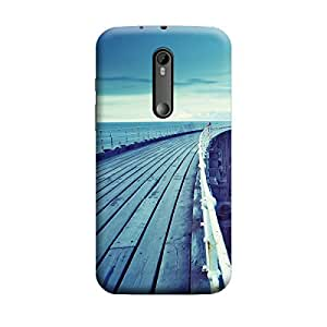 iCover Premium Printed Mobile Back Case Cover With Full protection For Moto G3 / Moto G Turbo (Designer Case)