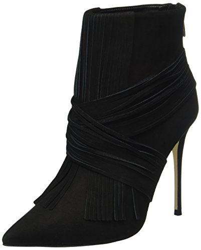 Buffalo London 130312B Nobuck, Stivaletti Donna, Nero (Black 01BLACK 01), 37 EU