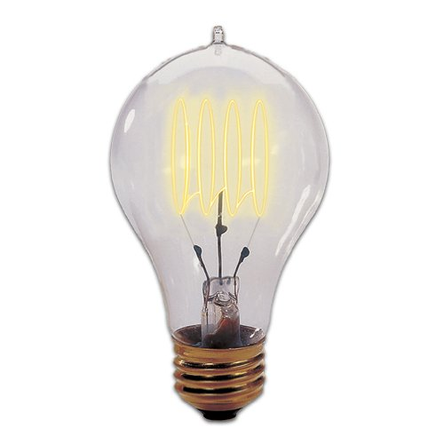 Bulbrite 132520 25W Nostalgic Edison Quad Loop-style Bulb photo