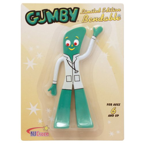 Doctor Gumby Poseable Bendy Figure Toy