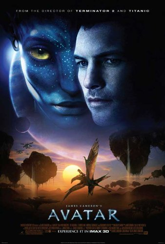 Image of Avatar - Movie Poster - 11 x 17