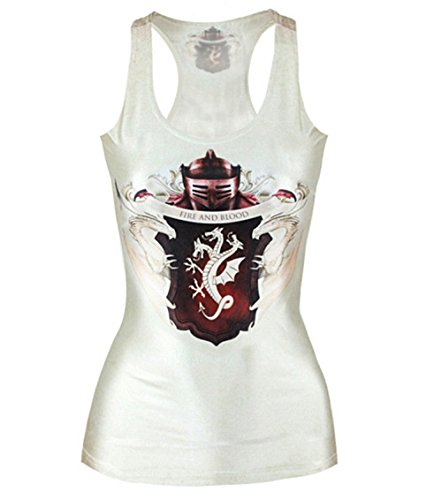 Women Got Fire And Blood Small Size Tank Top