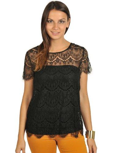 Second Female Laci T-Shirt S, black