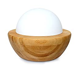 SPT Ultrasonic Aroma Diffuser/Humidifier with Wood Base