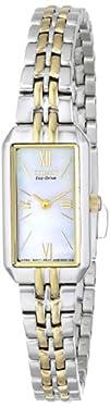 Citizen Womens EG2694-59D Eco-Drive Two-Tone Dress Watch