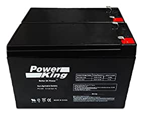12V 8AH SLA Battery Replaces ep1234w - 2 Pack Beiter DC Power®