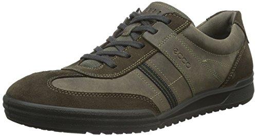 Ecco ECCO FRASER - Sneakers Uomo, Nero (DARK CLAY/STONE56818), 41 EU